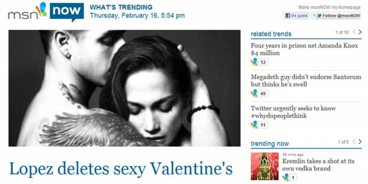 MSN lanza su monitor de tendencias en tiempo real