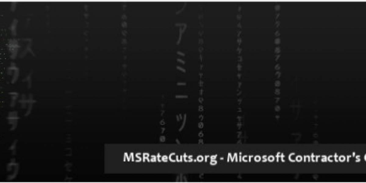 Contratistas de Microsoft se organizan para que no les reduzcan los sueldos