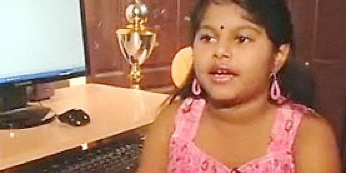 Niña prodigio de 8 años se convierte en el MCP más joven