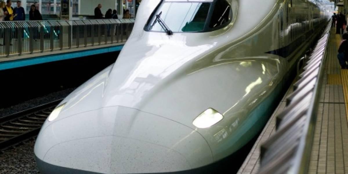 Japón: WiFi en los trenes Shinkansen