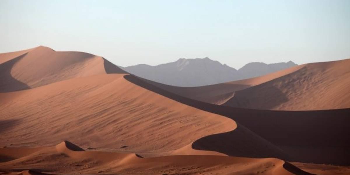 Cayó nieve en el desierto del Sahara y las imágenes son espectaculares