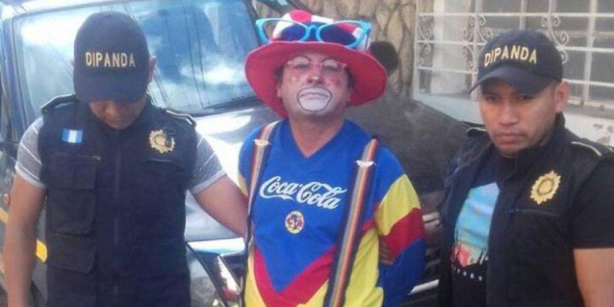 """""""Narcopayaso"""" es detenido en Jalapa con varias bolsitas de marihuana"""