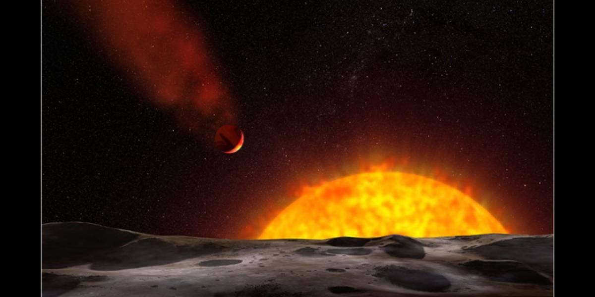 """NASA descubre un """"planeta-cometa"""""""