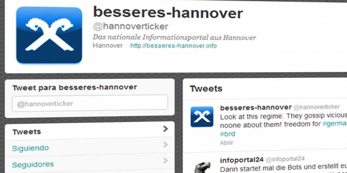 Twitter bloqueó el acceso en Alemania a una cuenta neo-Nazi