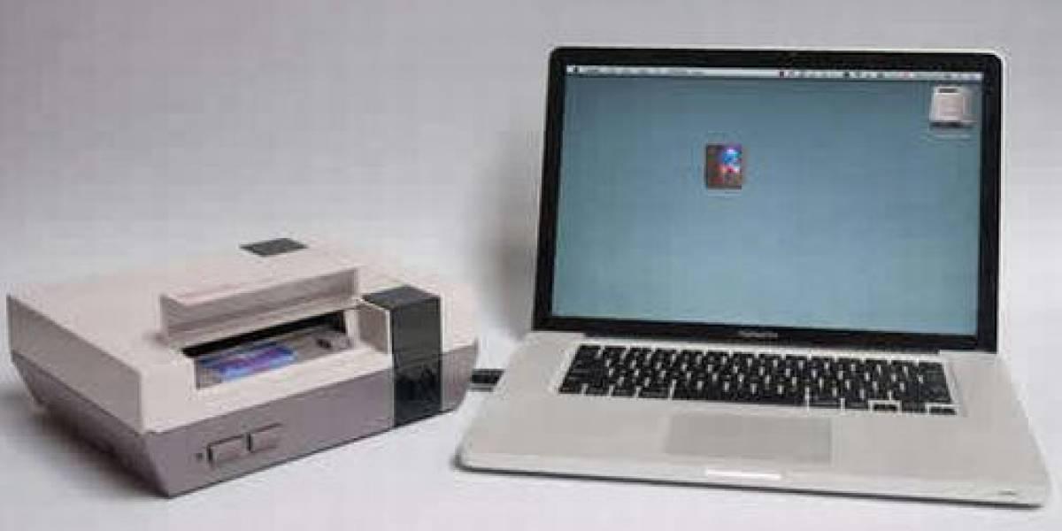 Una memoria USB a partir de una consola NES es simpática, pero bien poco útil