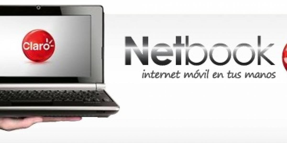 Claro lanza planes 3G + netbook