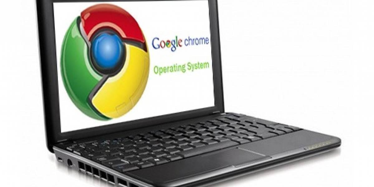 Futurología: Google venderá smartbook con Chrome OS este mes