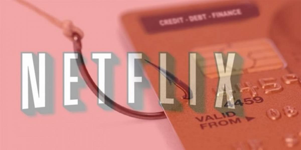 """No respondas este correo de """"Netflix"""": es una estafa"""