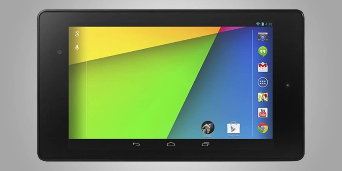 El nuevo Nexus 7 es más rápido, más delgado y trae Android 4.3