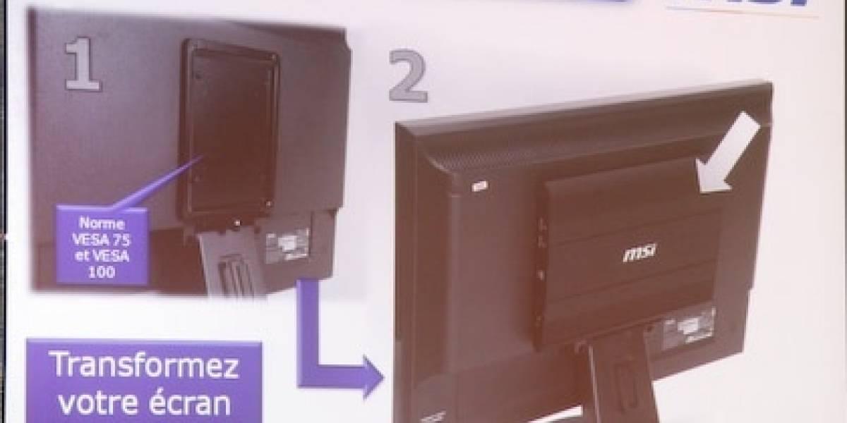 MSI Box: Convierte tu monitor LCD en un todo en uno