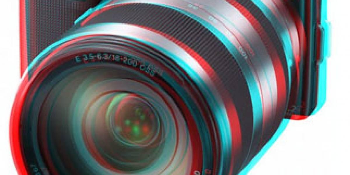 Las cámaras Sony NEX-3 y NEX-5 ahora con la opción para crear panoramas 3D