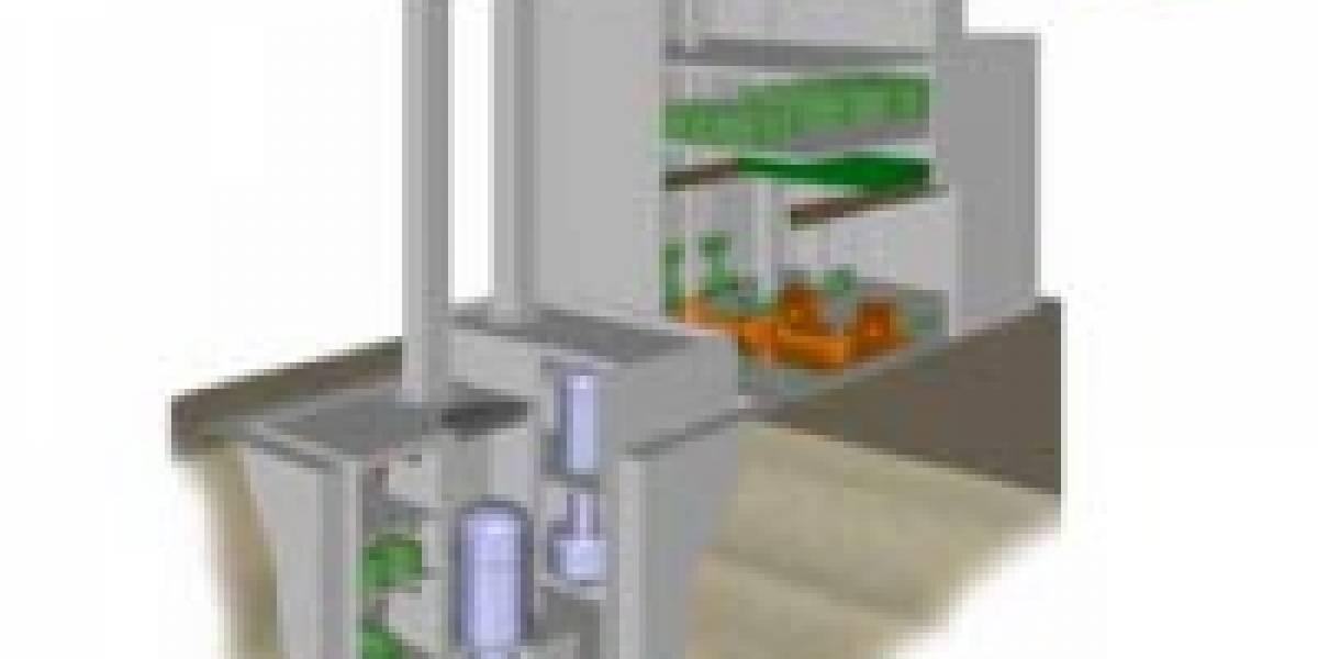 Toshiba desarrolla micro reactores nucleares para casas y edificios