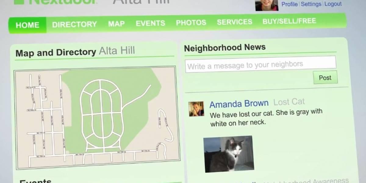 Nextdoor: la red social con la que puedes conocer a tus vecinos