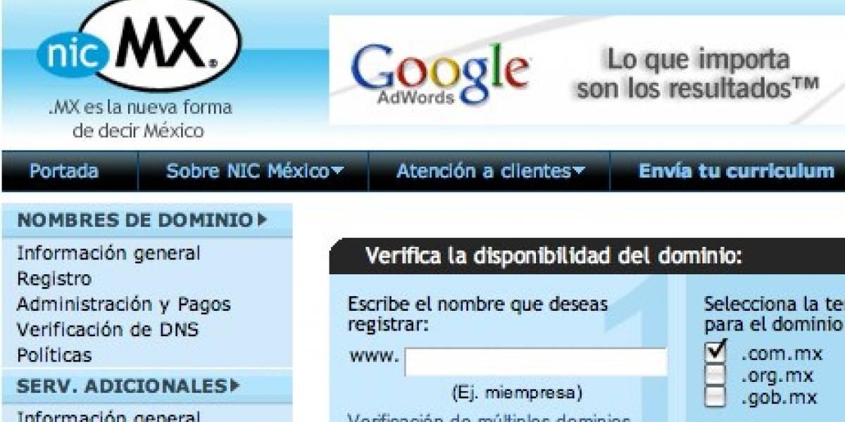 20 años de usar dominios .mx