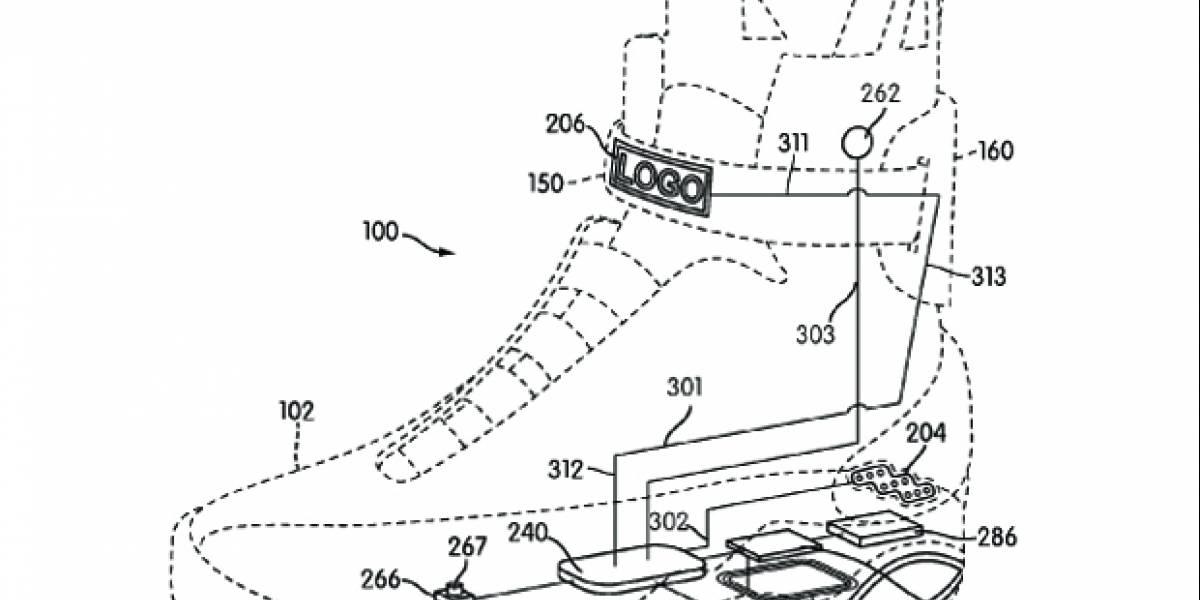 Nike nos trae de vuelta al futuro: Patentó las zapatillas que se abrochan solas