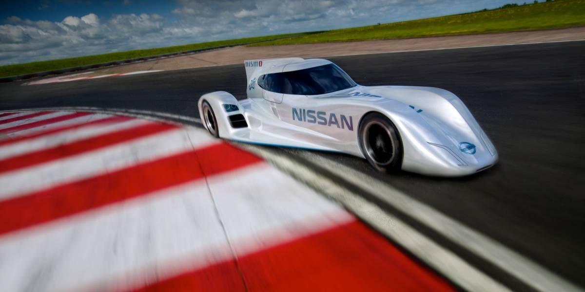 Nissan revela auto eléctrico que alcanza los 300 Km/h y debutará en Le Mans 2014