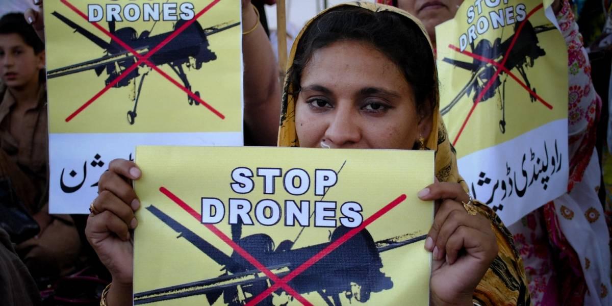 Mujeres dicen NO a ataques con drones mucho más que los hombres