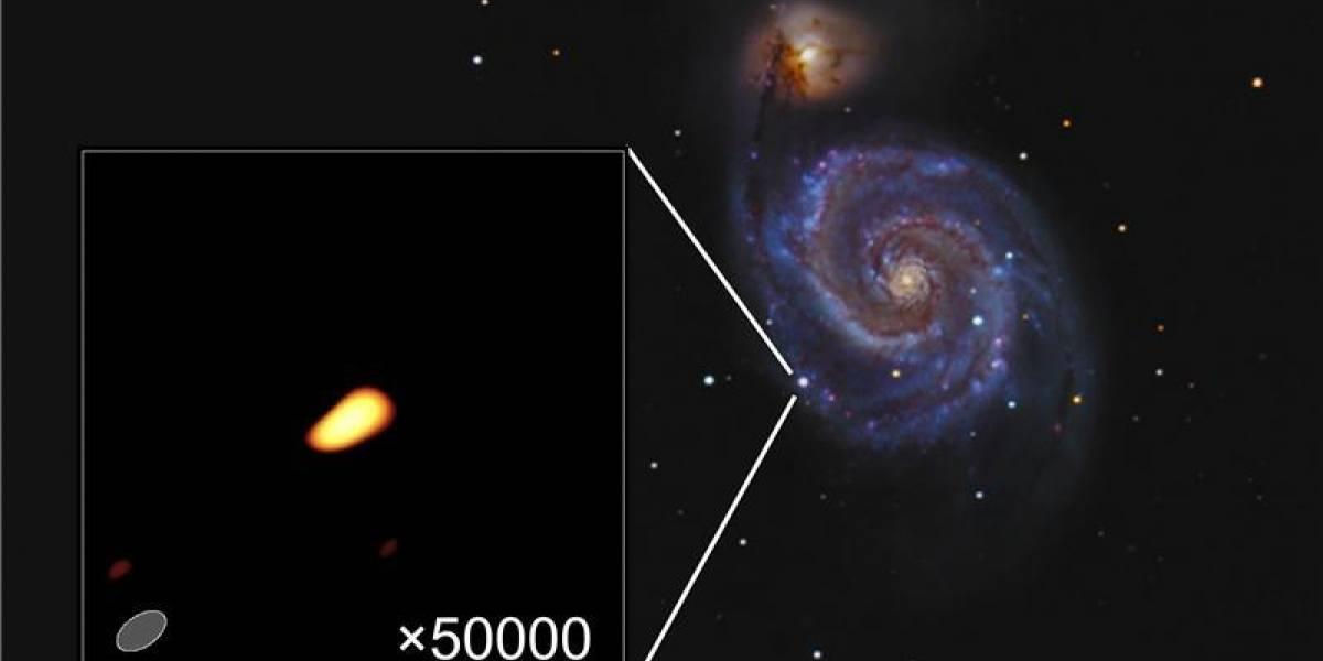Imagen: La supernova más joven jamás fotografiada