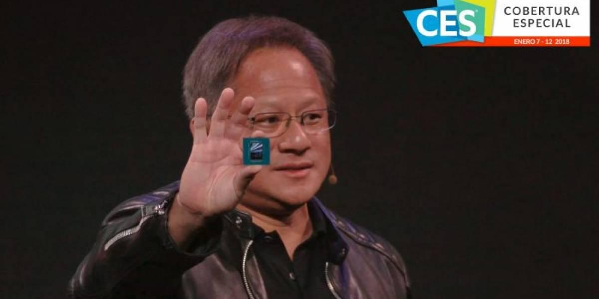 NVIDIA Drive Xavier es el primer chip para vehículos autónomos #CES2018