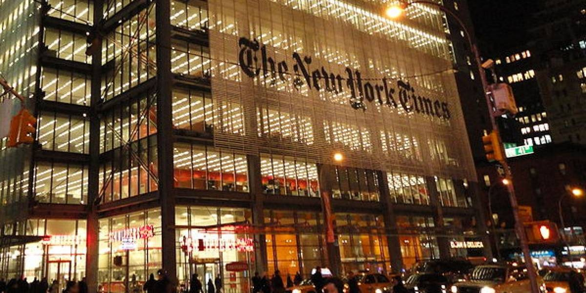 El New York Times comenzará a cobrar por su contenido el 28 de marzo