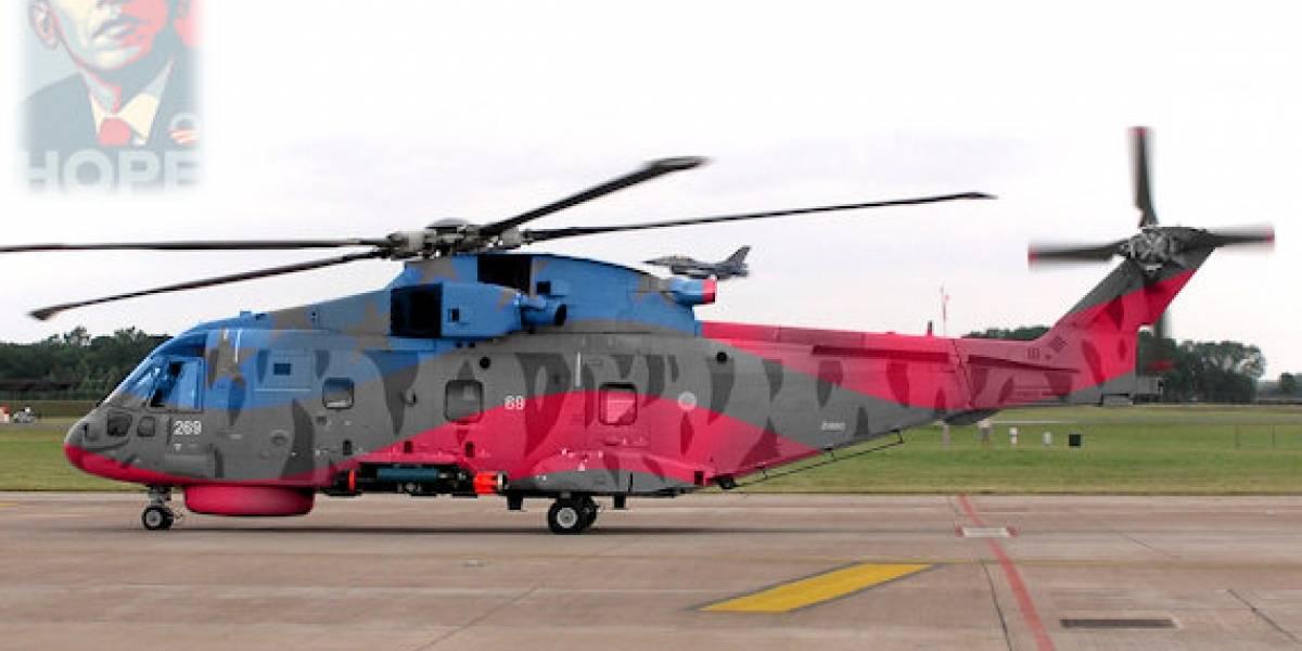 Futurología: Podría haber un Obamacopter