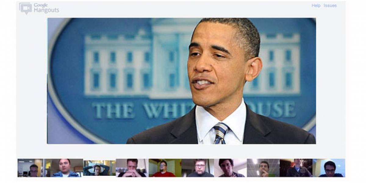 Barack Obama organizará una quedada en Google+ el próximo lunes