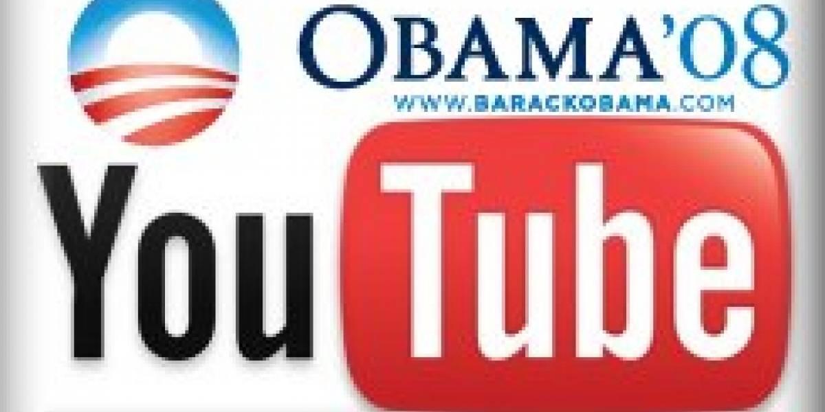 Obama dará sus discursos a la Nación por YouTube