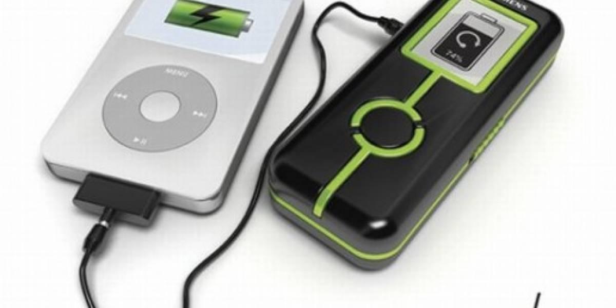 Ohm: Carga tus gadgets pedaleando