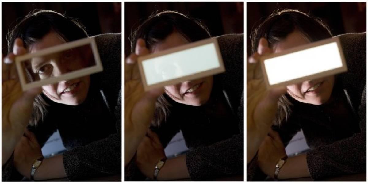 Philips trabaja en el desarrollo de pantallas OLED transparentes