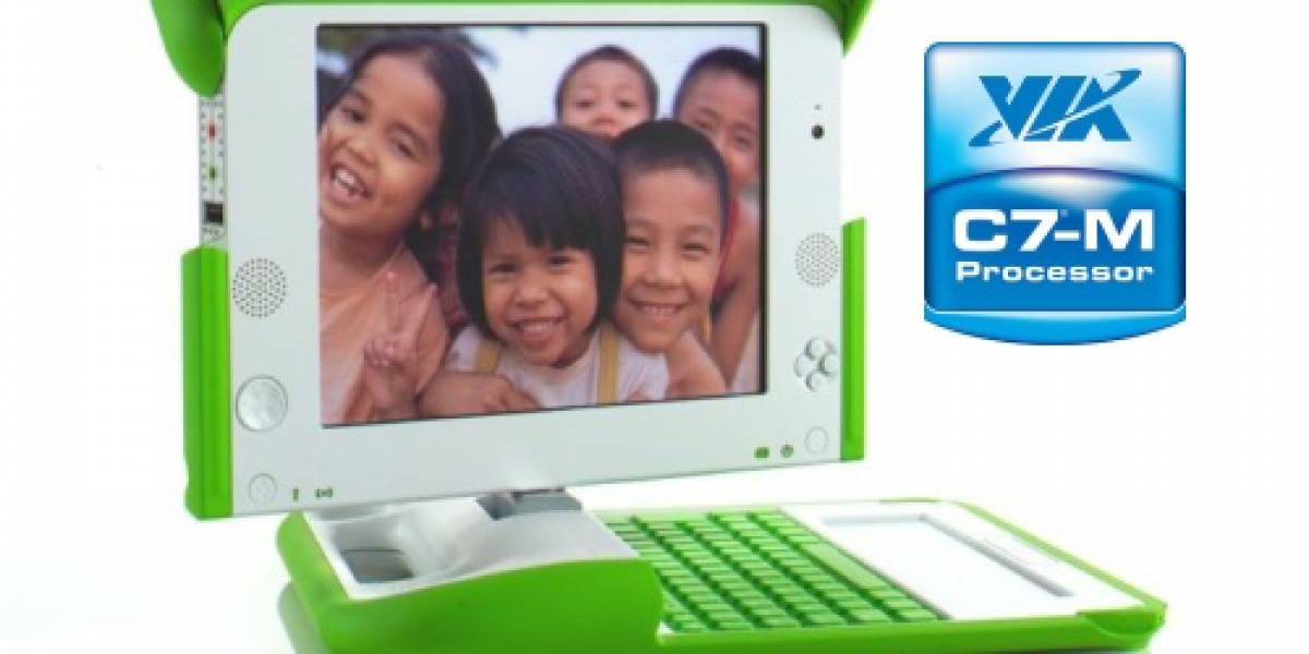 OLPC XO-1 Gen 1.5 con nuevo procesador VIA C7-M