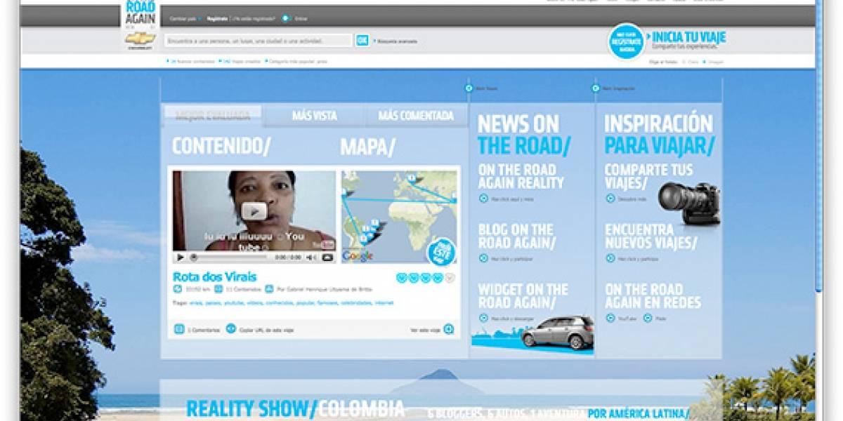On The Road Again: Chevrolet lanza plataforma social de viajes camineros