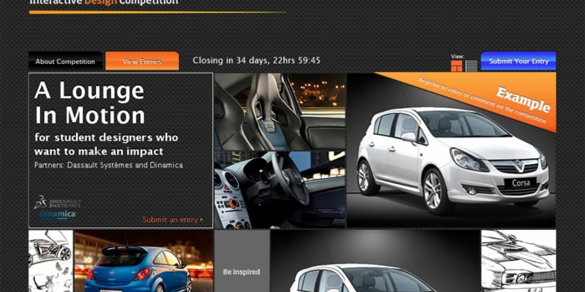 Opel convoca al diseño de un vehículo a través de las redes sociales