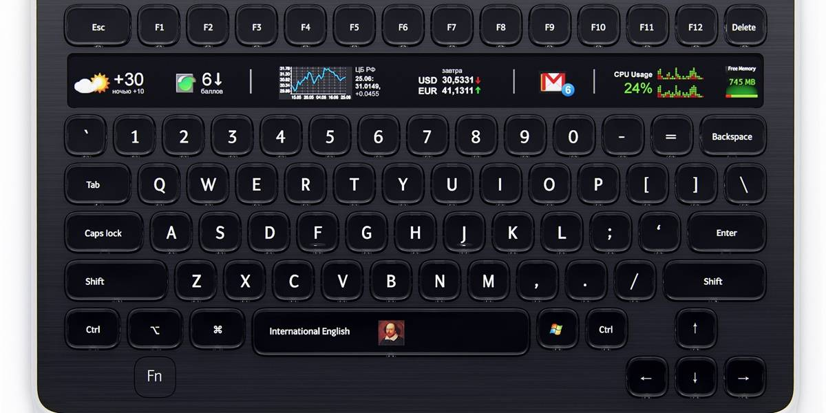 Optimus Popularis: Pronto estará disponible el hermano menor del teclado Maximus