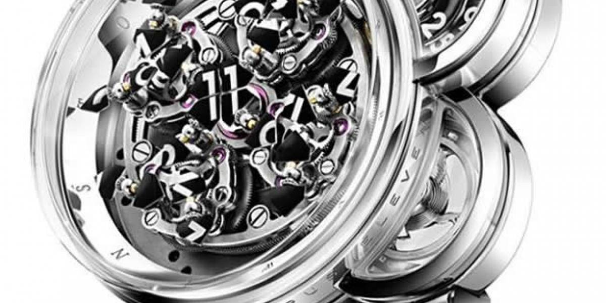 El reloj Opus Eleven se destruye y reconstruye cada hora