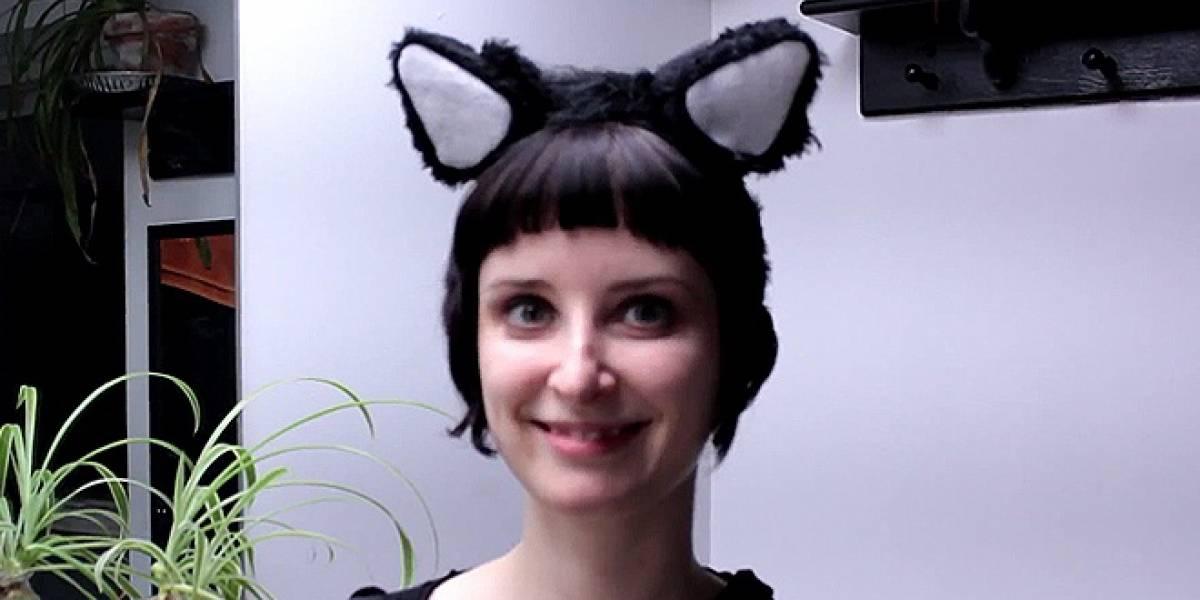 Demuestra tu amor nerd con estas orejas de gato animatrónicas