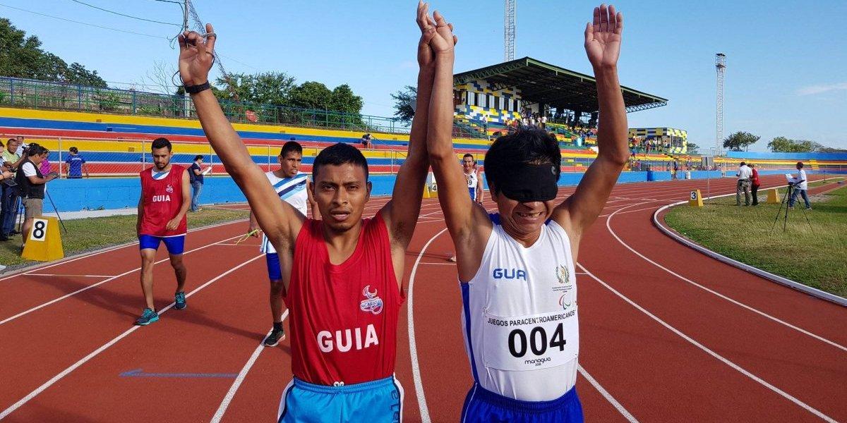 Óscar Raxón hace hondear la azul y blanco con un nuevo oro en los Paracentroamericanos