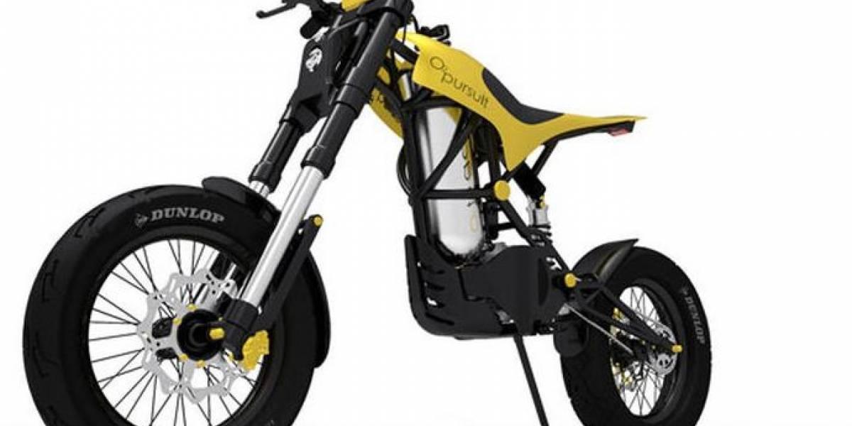 O2 Pursuit: Moto ecológica que funciona con aire comprimido