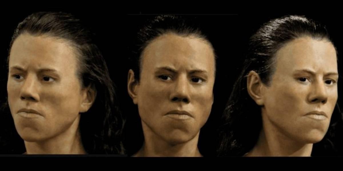 Paleontólogos digitalizan rostro de mujer fallecida hace 9 mil años
