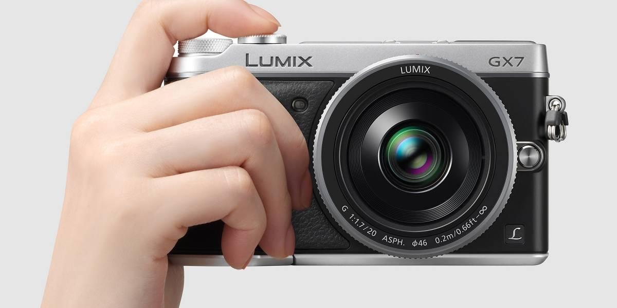 Panasonic Lumix GX7 tiene alma retro