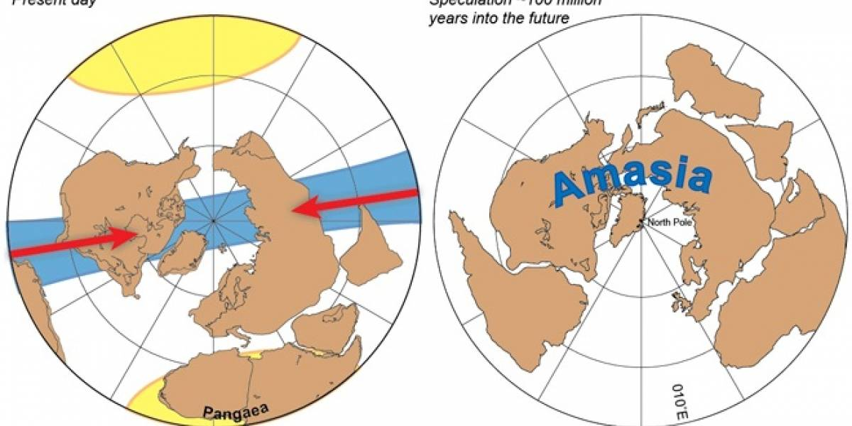 América, Europa y Asia se encaminan a crear supercontinente en el Polo Norte