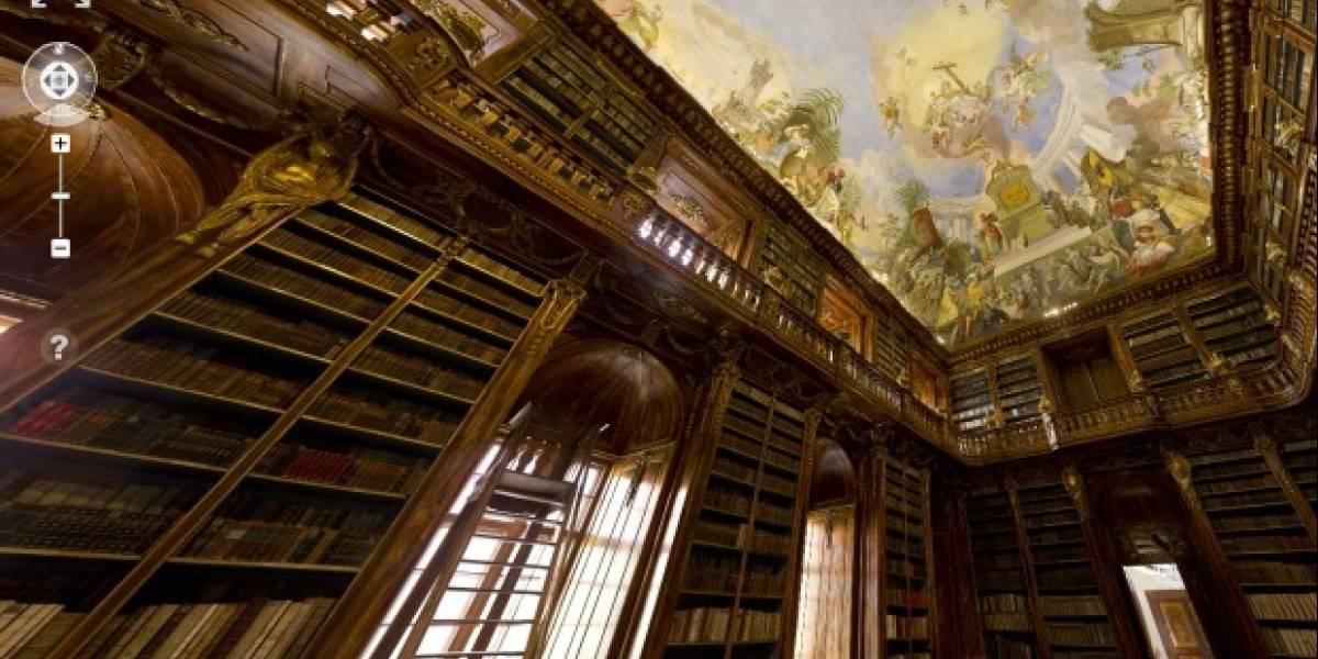 La foto interior más grande del mundo es una biblioteca de 40 Gigapixeles