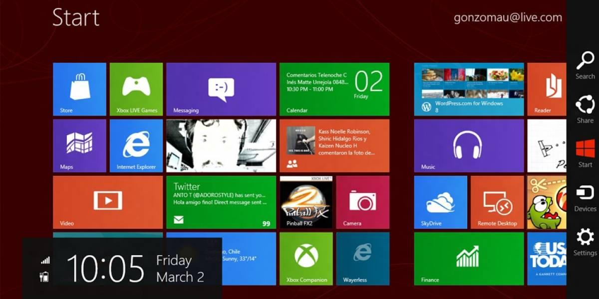 El registro de Windows 8 Consumer Preview revela que habrán 9 versiones para elegir