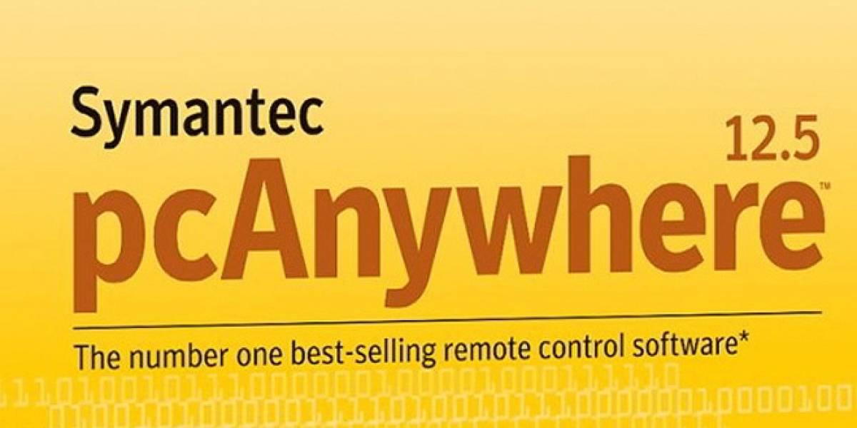 Symantec dice que no hay riesgos de seguridad en pcAnywhere