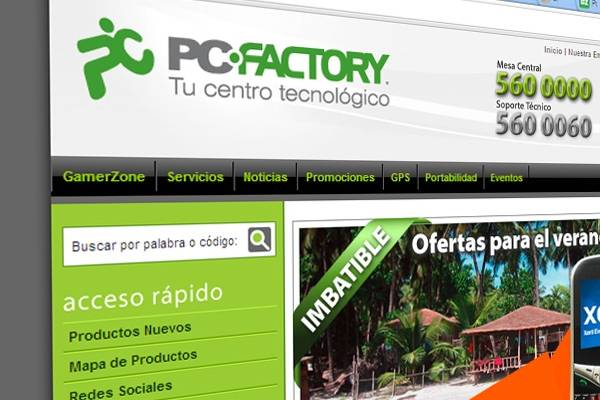 Chile Grupo De Inversin Compr PC Factory Por USD60 Millones
