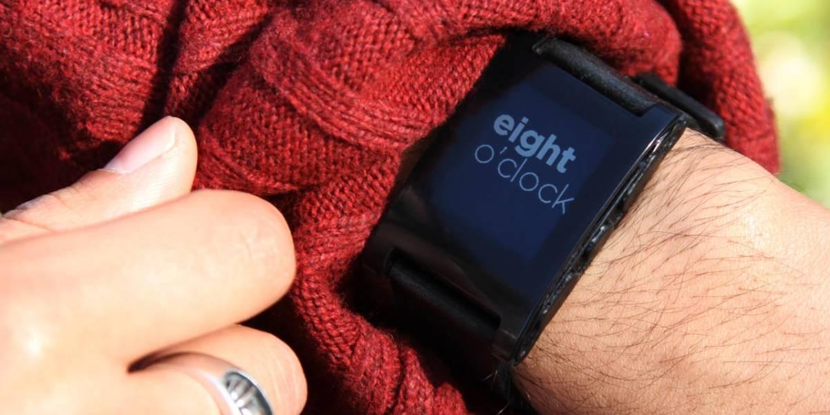 Pebble anuncia que ya vendio 275 mil relojes inteligentes