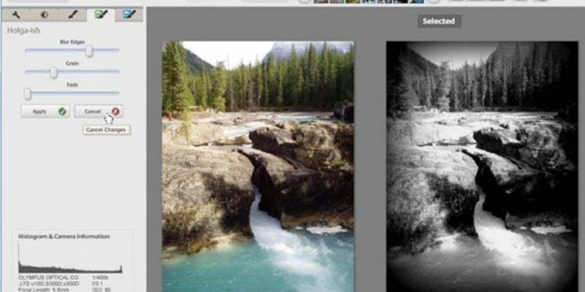 Picasa 3.9 viene con efectos nuevos