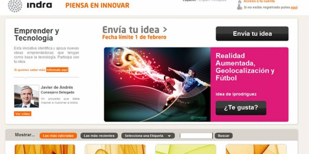 España: Indra lanzó concurso para buscar ideas innovadoras