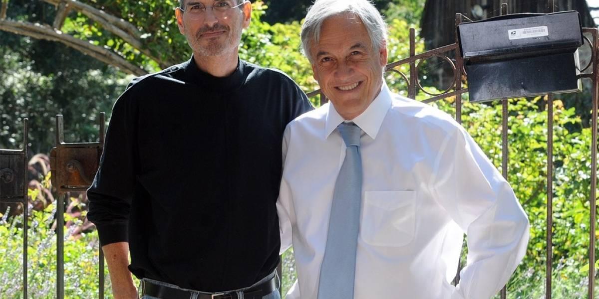 Presidente Piñera dice que Steve Jobs quería ir a Chile
