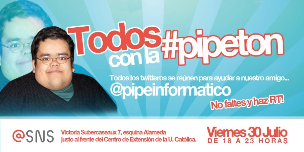 Chile: #Pipeton, twitteros organizan campaña solidaria por uno de sus usuarios