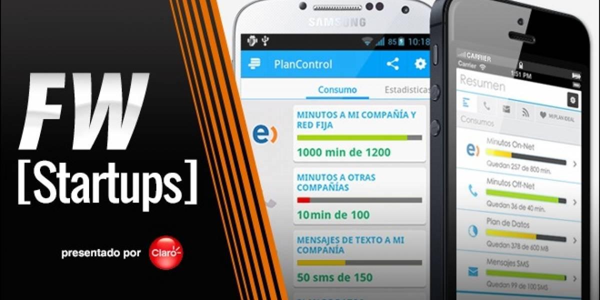 PlanControl, una app para saber qué plan de telefonía te conviene [FW Startups]